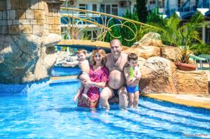 Семейная съёмка на Солнечном берегу